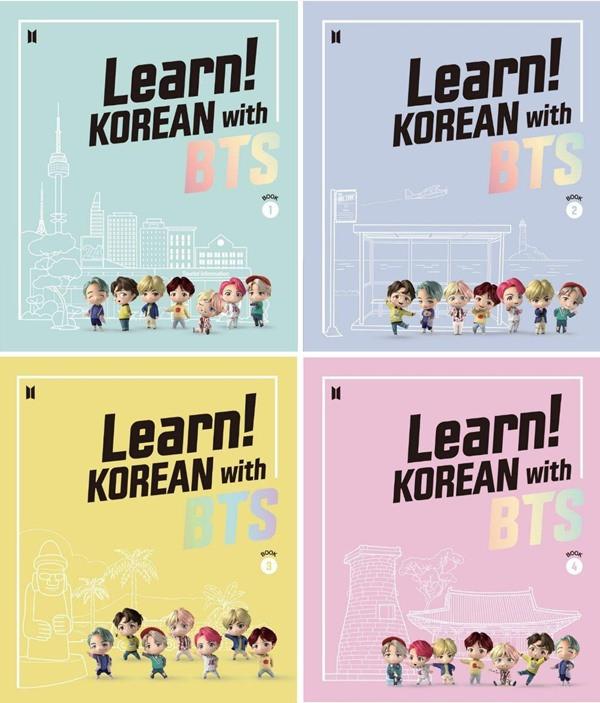 BTS 韓文學習《Learn! Korean with BTS》