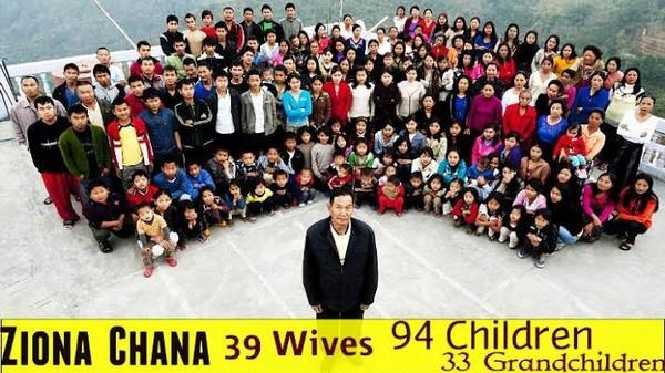 真的子孫滿堂! 76歲翁「擁39妻、94兒女及33孫」成世界最大家族