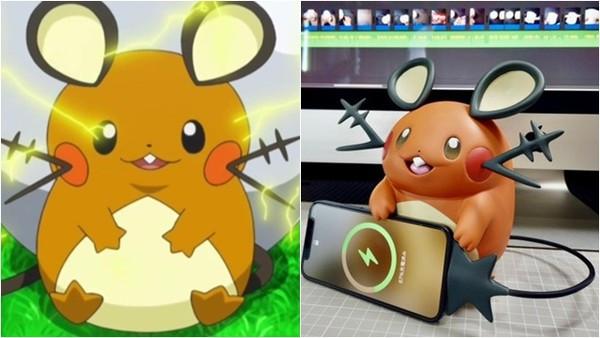 使出充電!神人自製「寶可夢充電器」系列 頑皮咚咚鼠還會從插座偷電