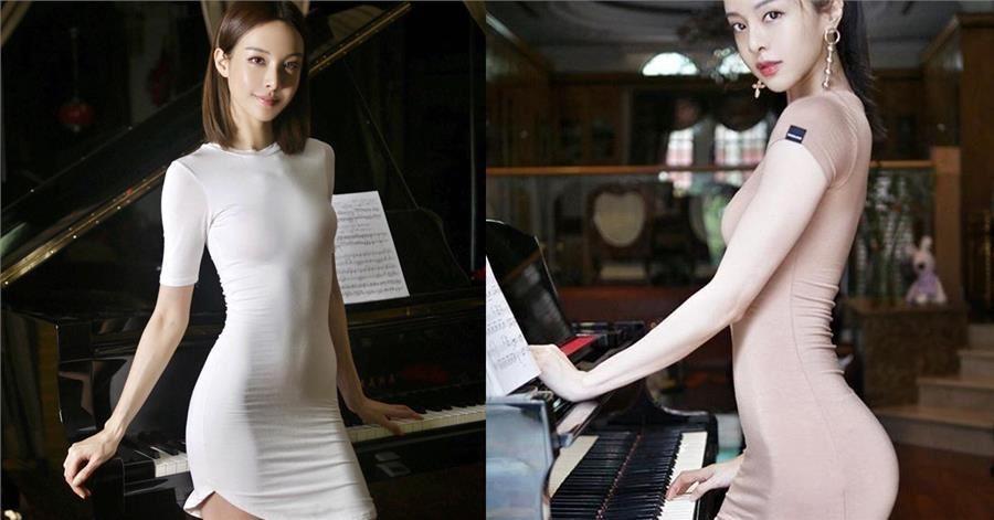 世界最美鋼琴家,華裔鋼琴女神「氣質仙女臉蛋」驚艷全球,辣曬「體脂12%絕美身材」網友再暴動