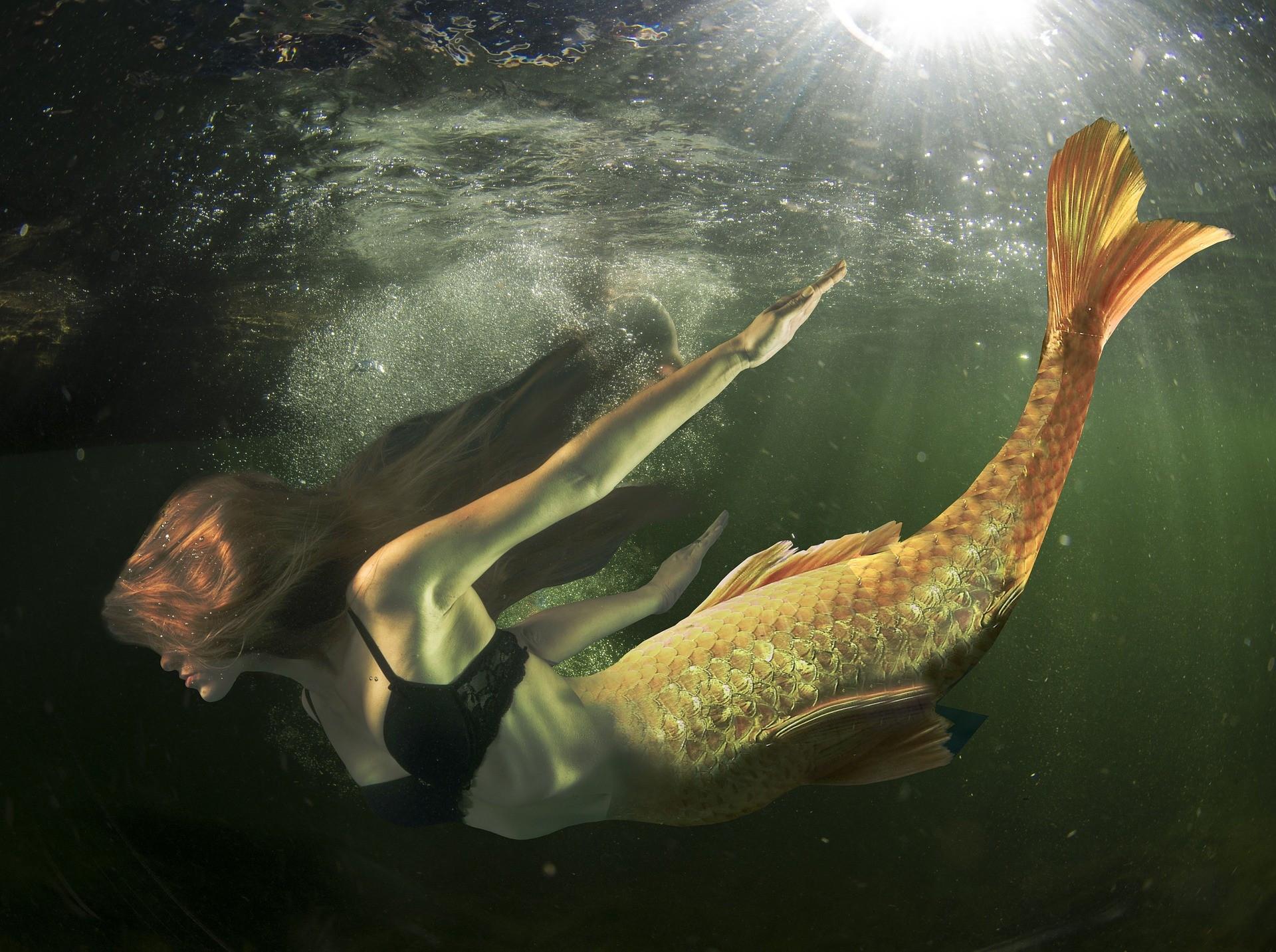 ▲▼人魚傳說(圖/取自免費圖庫pixabay)