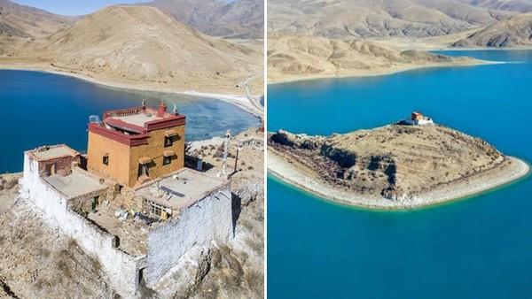 隔絕塵囂161公里!西藏和尚獨守「最孤獨寺廟」 網看照片超羨慕