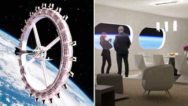 環形「太空酒店」倒數6年開幕!距離地球500公里 年收千萬有機會入住