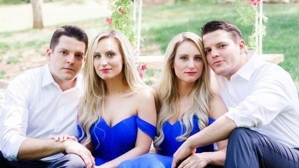 老公老婆不錯認!同卵雙胞胎「兄弟同娶姊妹」 幸福甜喊:一起生孩子