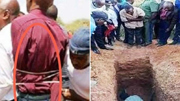 牧師讓信徒活埋自己「保證三天後會復活」!期限一到眾人興奮開挖 全嚇哭了