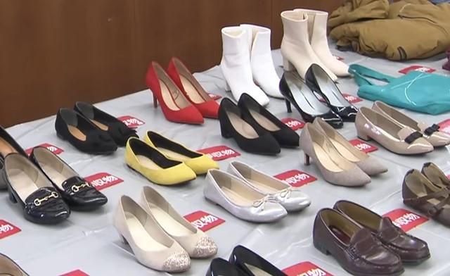 ▲▼偷女鞋大盜。(圖/翻攝自YouTube/FNNプライムオンライン)