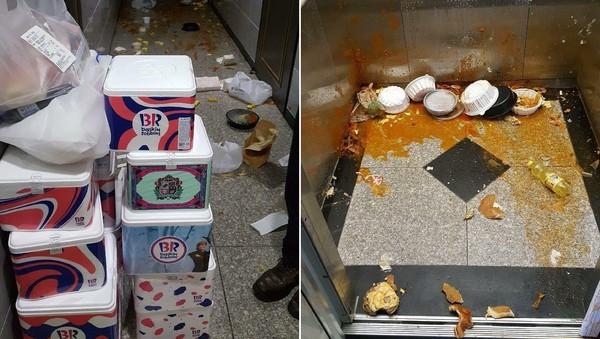 韓女狂點外送!2.5萬食物不吃「直接撒電梯」 警到場才發現:她病的嚴重