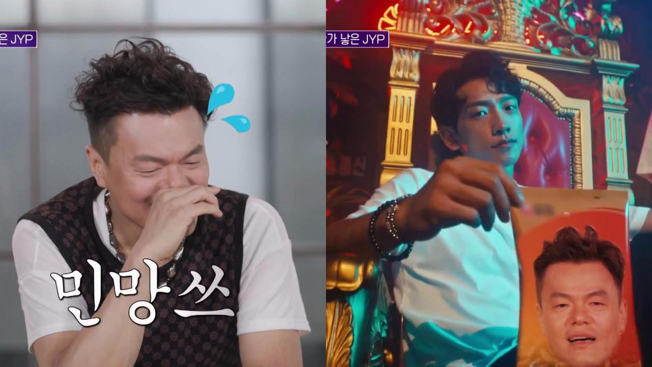 朴軫永當初苦口婆心勸說Rain,如今卻被《GANG》的逆行大熱「打臉」XD
