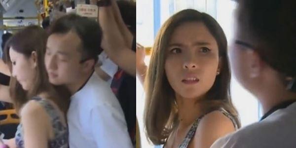美女老師坐公車遭遇鹹豬手,猥瑣男一句話竟讓她「啞口無言」!看到最後超火大!
