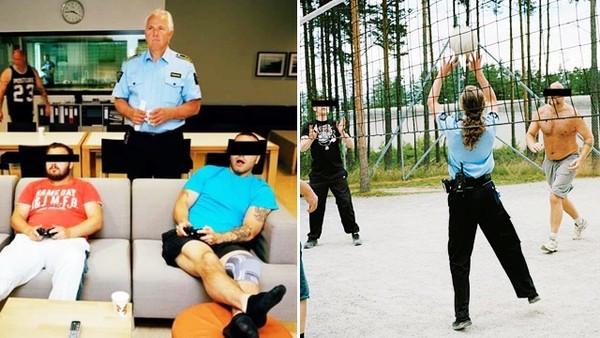 陪囚犯玩電動打球!挪威五星級監獄重視心理健康 成功讓再犯率下降50%