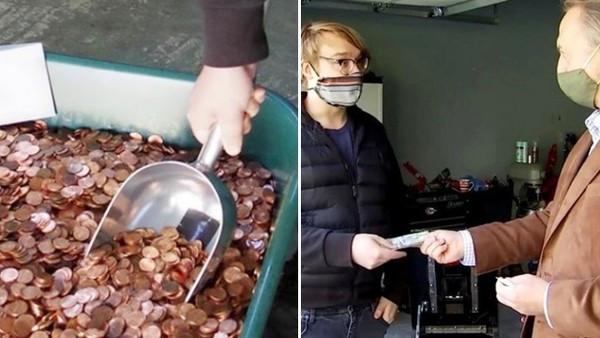 男被雇主欠薪「收到9萬枚黏臭銅板」!企業總裁不忍心給他一疊鈔票