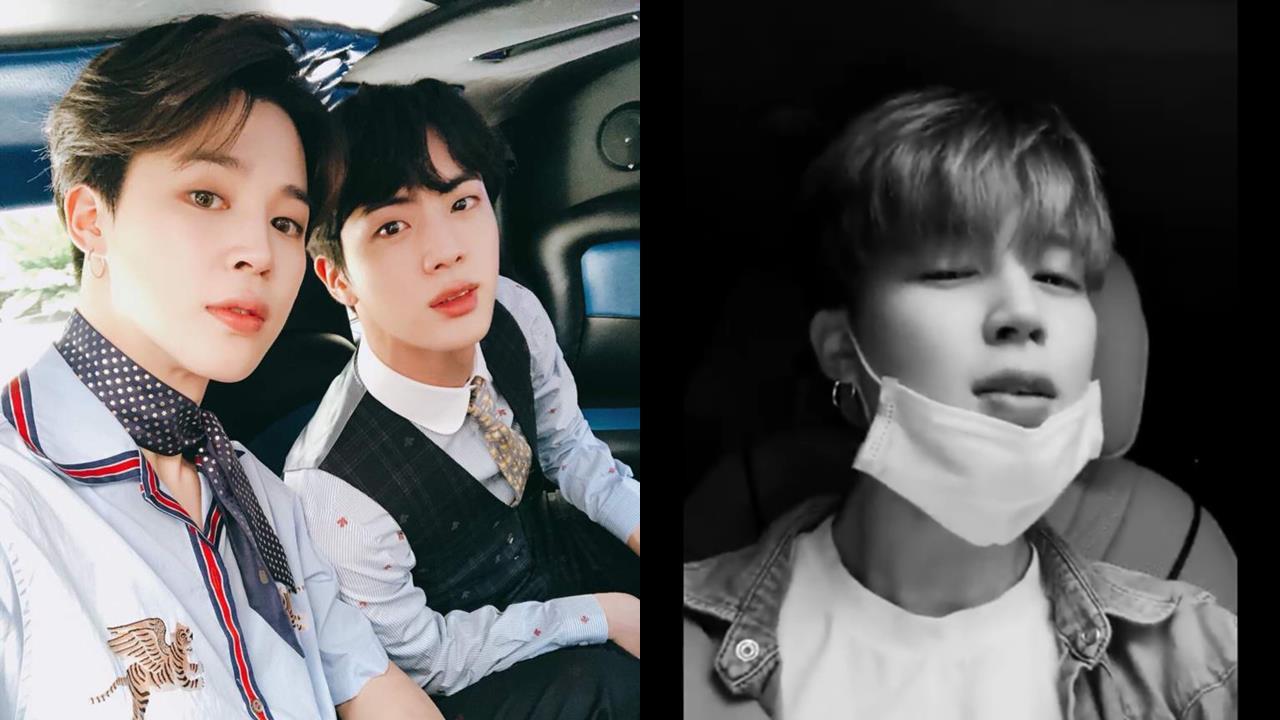 BTS JIMIN&JIN坐車飆唱七首歌展「吃CD歌唱實力」,大哥居然不知道弟弟的solo曲!XD