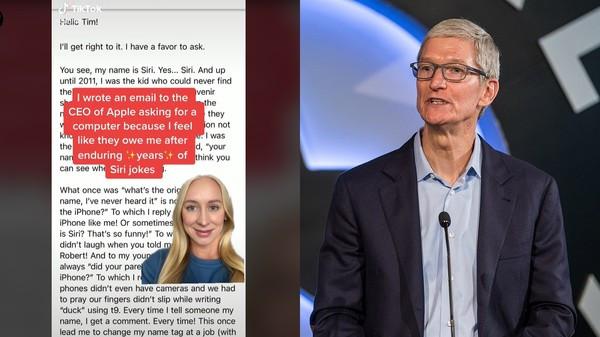 她就叫Siri!天天聽到「別人喊自己」 崩潰怒告蘋果:有尊重我嗎?