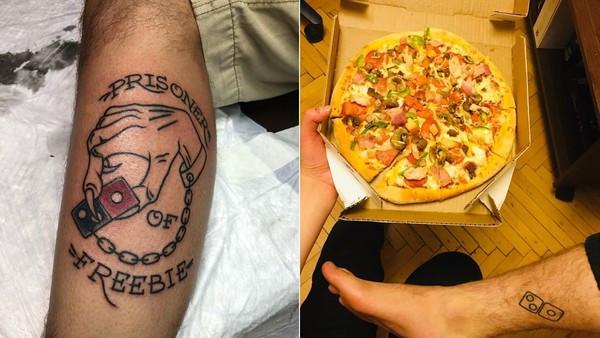 俄版鮭魚之亂!達美樂logo刺身上「免費吃100年」 民眾擠爆刺青店:吃到吐