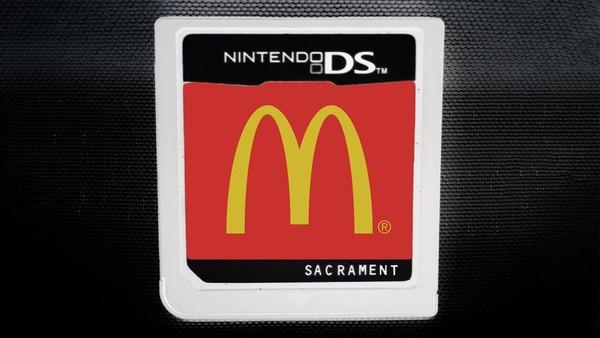 收藏家破解傳說NDS「麥當勞遊戲機」 原來速食店員工出餐都玩這個訓練