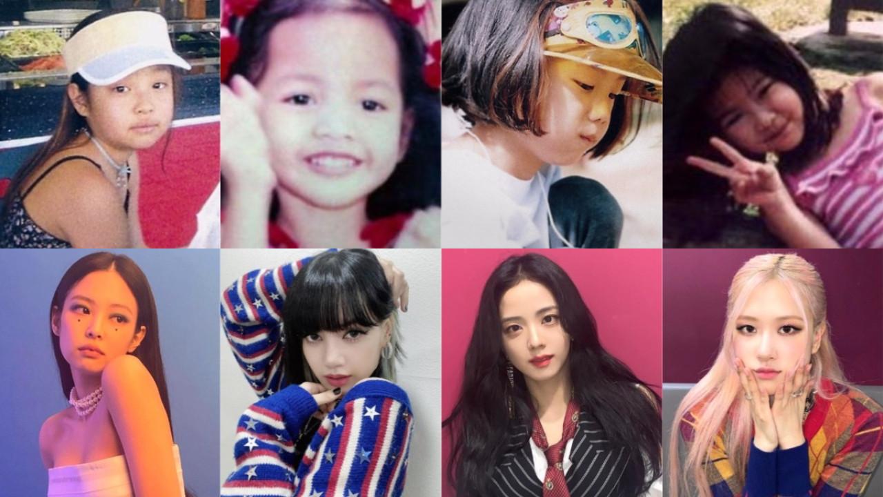 紀錄片中公開了 BLACKPINK 的童年照!4名成員小時候都好可愛,與現在的樣貌差距不大!