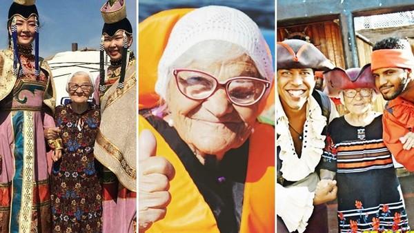 直到孩子成家「80歲嬤才肯出國」!她來不及走完全球景點,離世前笑著打卡