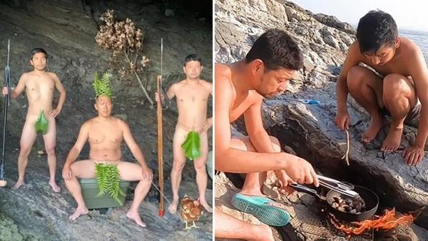 疫情嚴重「三男躲無人島」遠離人群!自給自足30天後…他們找回人生意義
