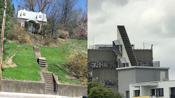到底怎麼走?6款「腦子進水」樓梯 不是沒錢就是設計師想搞事