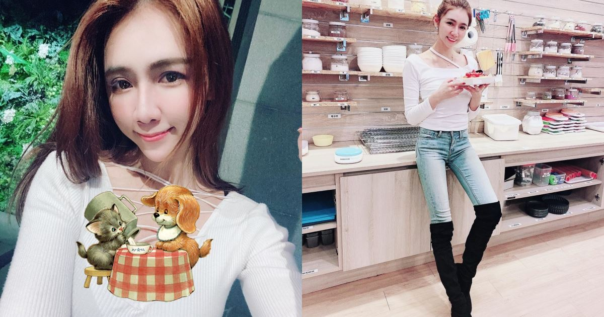 甜美上班族「Mina」假日偷閒做烘焙,超窈窕身材讓人看了想連吃!