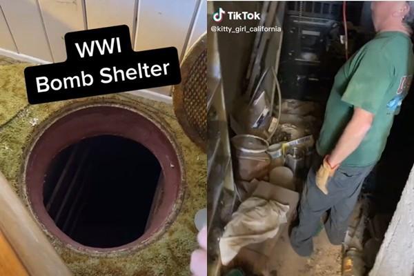 家裡出現一口井!女屋主家中找到「核彈防空洞」:80年前就在了