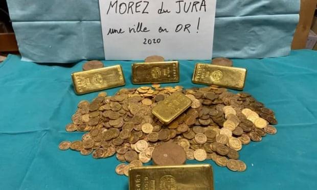 ▲▼買下老屋整修 挖到五倍黃金(圖/Morez市議會)