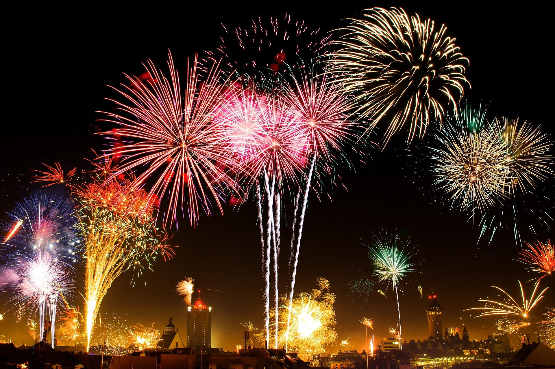 ▲▼跨年,煙火,慶祝活動,約會。(圖/示意圖/pixabay)