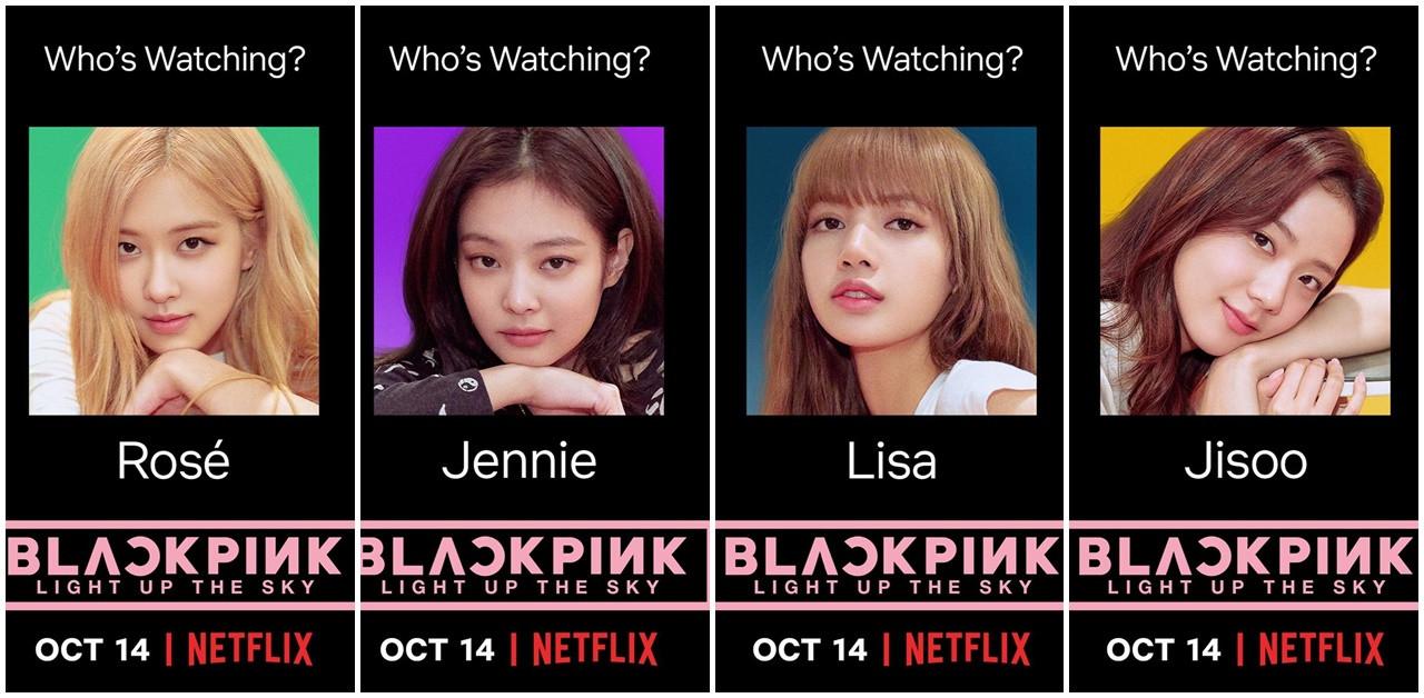 BLACKPINK的成名之路!紀錄節目將在10月14日於Netflix向全世界公開!