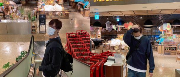李敏鎬低調出門卻撞板 到超市門口發現可悲現實大喊:OMG