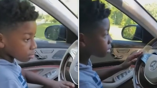 阿嬤路邊暈倒 11歲孫「急開車送醫院」平安救回一命