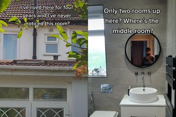 家裡住四年發現「消失的密室」 男爬屋頂驚現暗窗:怎不知有這間
