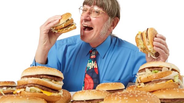 49年吃掉3.2萬個大麥克破紀錄! 他「不搭薯條+每天健走9公里」維持體態