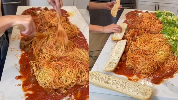 中島台當鐵板炒!煮義大利麵「地獄模式開啟」 FB罵爆:肚子好痛