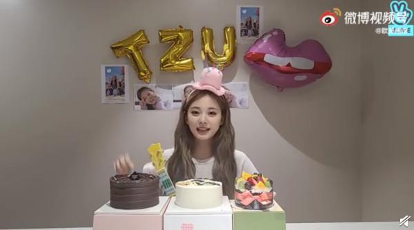 子瑜生日快樂!歡度22歲生日 軟萌中文開口「我愛你們」樂翻粉