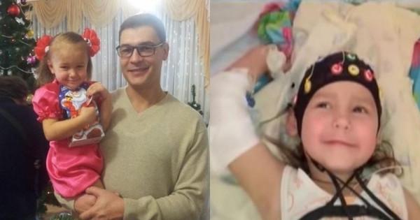 女孩意外溺斃,心臟停了30分鐘,救護人員都宣告不治!但女孩的爸爸堅持不放棄,沒想到奇蹟發生了!