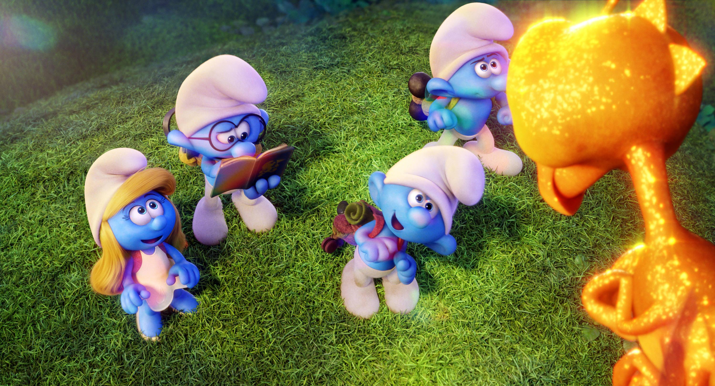 《藍色小精靈:失落的藍藍村》。(圖/索尼提供)