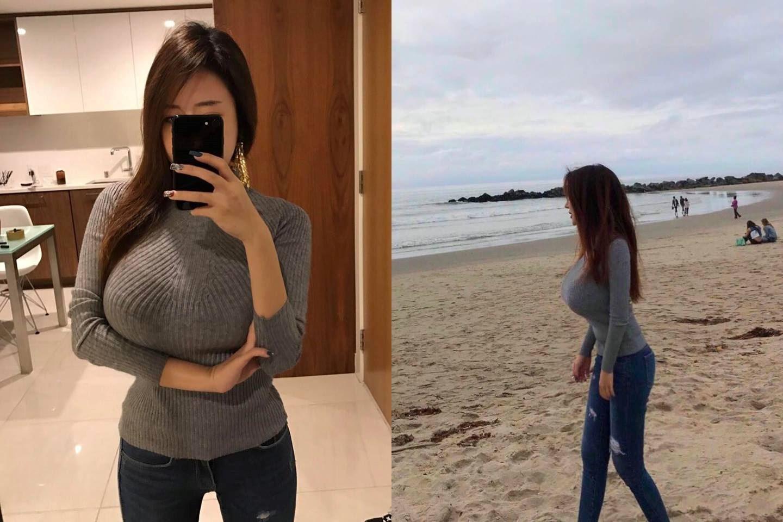 海邊拍到「重心不穩」逆天正妹 想去扶她原來是超猛的韓國正妹YUI