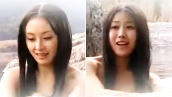 北韓「38秒露天女湯片」公開播送!女演員無濾鏡無濃妝 網驚:真的有正