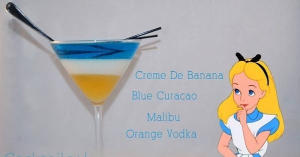 誰說少女不酗酒!超可愛「迪士尼調酒」,每一杯都會讓妳尖叫連連!