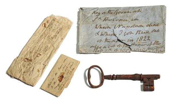 後代找到「關死拿破崙的鑰匙」 蘇富比拍出311萬天價成交