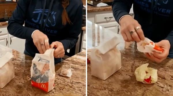 快樂傳家餐!開箱「家藏17年麥當勞套餐」沒蟲沒發霉 官方:真沒防腐劑