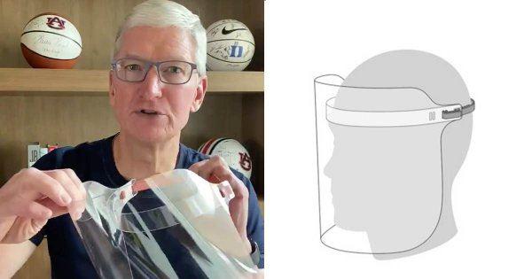 蘋果「新產品」出了?! CEO宣布投入製作「醫療面罩」可覆蓋全臉:每週產+捐百萬副