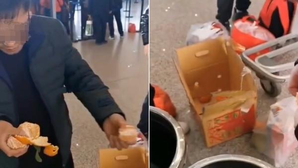嫌託運1300太貴!陸男半小時「KO 30公斤橘子」 三天後超後悔