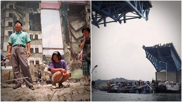 樓崩橋塌百姓含淚捐金救國家....回顧韓國四大災難 每次重振都不簡單