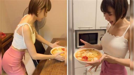 林明禎親自下廚問「誰還要?」 網民讚:下麵一定好吃