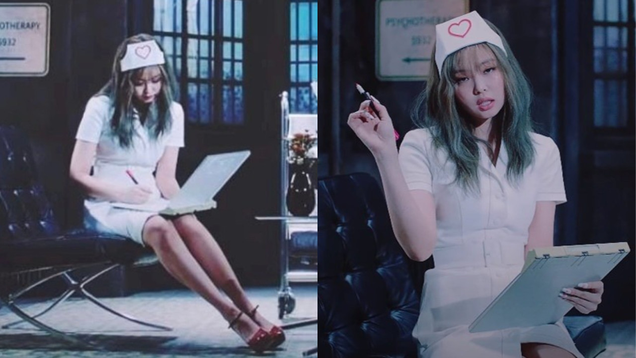 BLACKPINK新曲MV《Lovesick Girls》Jennie護士服造型引發爭議!YG:「沒有任何意圖,正在討論剪輯」