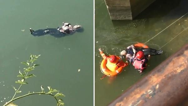 87歲嬤溺水「抱胸水上漂」 淡定撐一小時...救援到場嚇傻:是仰式高手?
