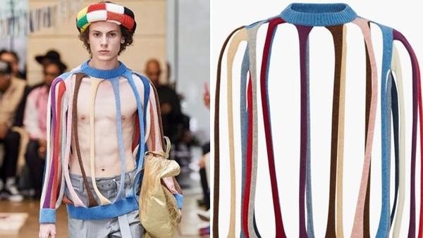 保暖度幾近零!時尚「挖空設計」毛衣售價破萬 設計理念:突顯強烈性格