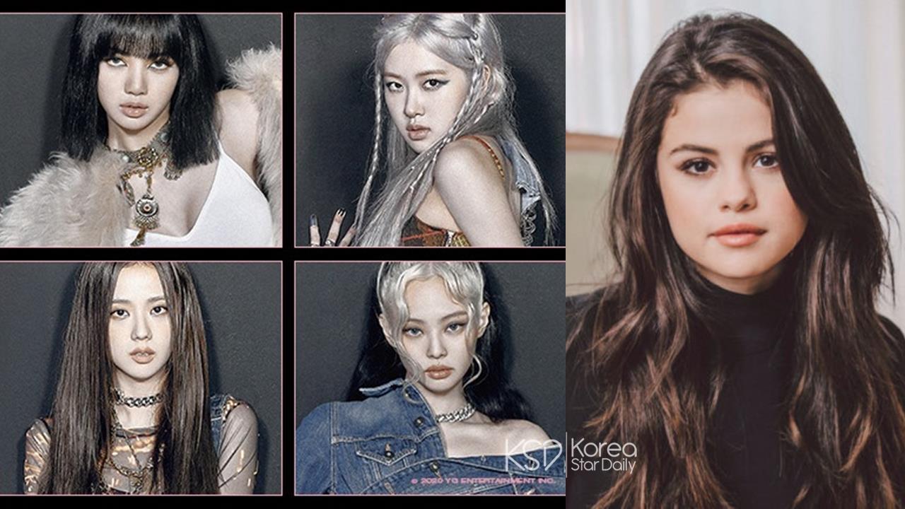 又一場跨國合作!人氣韓團 BLACKPINK 與美國歌手 Selena Gomez 合作海報出爐~