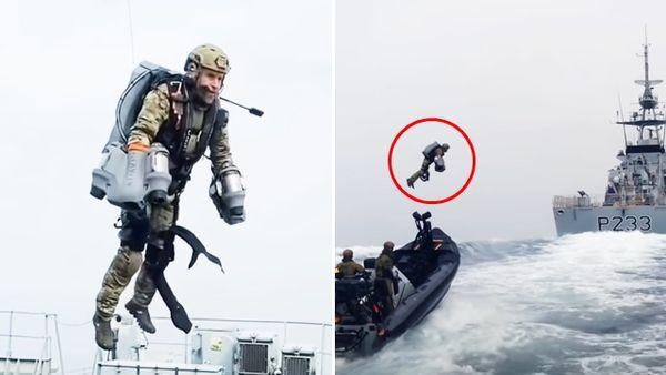 歐美特戰兵搶當「空中鳥人」!噴射背包可飛10分鐘 專家憂:容易被敵軍擊落